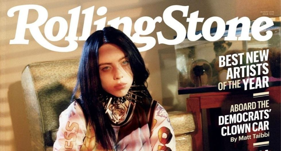 A sus cortos 18 años, Billie Eilish figura como una de las favoritas de los Grammy 2020. (Foto: Revista Rolling Stone)