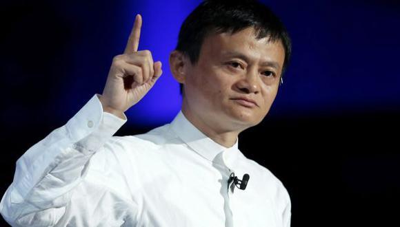 Jack Ma, líder de Alibaba, tiene US$21.800 mlls. en su bolsillo