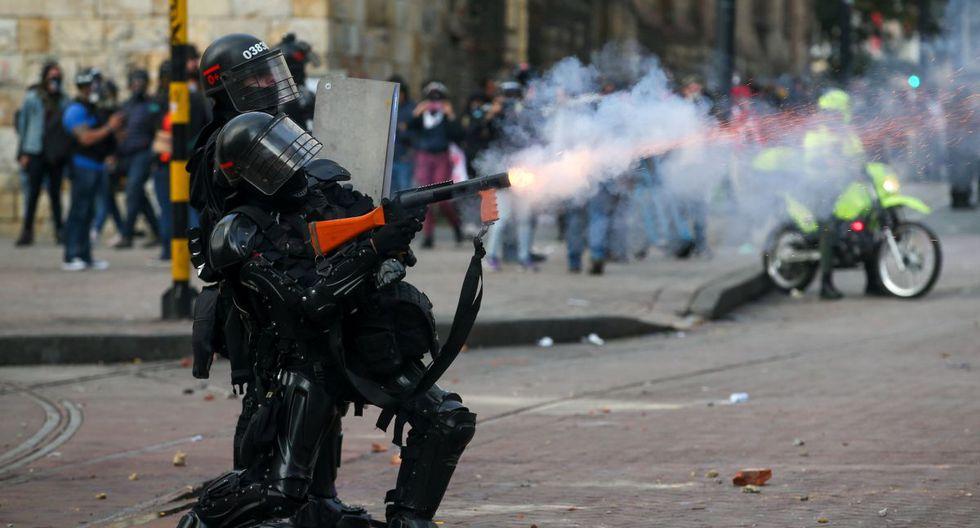 """La marcha fue convocada por el Comité Nacional de Paro bajo el lema """"defensa de la vida"""", pero fue muy distante de las masivas manifestaciones de noviembre y diciembre pasados. (Reuters)"""
