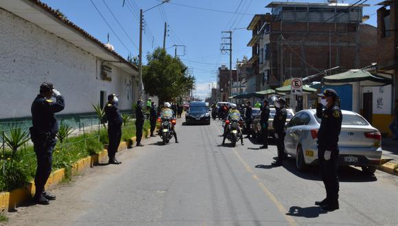 Los reconocimientos para el primer mártir de la región Junín se realizó en diversos puntos de la ciudad de Huancayo. (Fotos: Difusión)