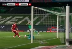 Claudio Pizarro casi marca: el atajadón de Manuel Neuer que le quitó el gol al peruano | VIDEO