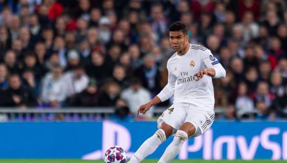 Casemiro superó el coronavirus y entrenó con el plantel del Real Madrid