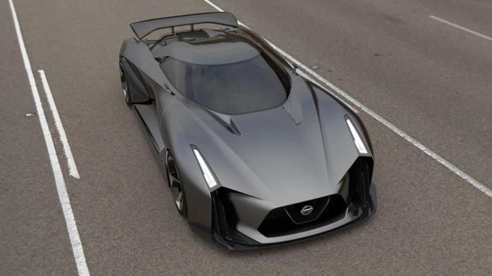 Nissan presentó su nuevo Concept 2020 Vision Gran Turismo  - 1