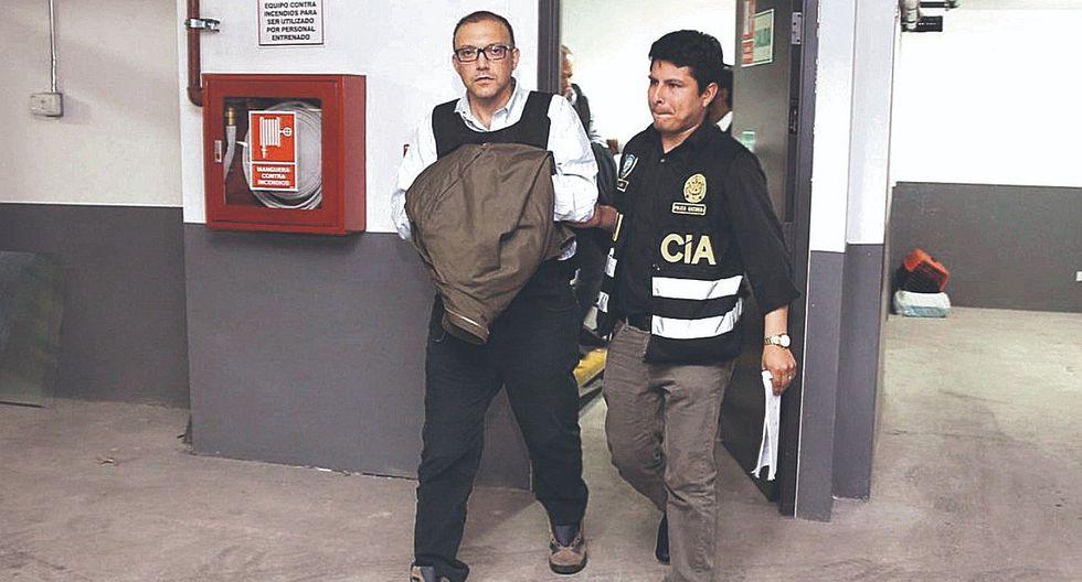 Pier Figari cumple con una orden de prisión preventiva desde noviembre de 2018 por el caso de los presuntos aportes falsos a las campañas de Keiko Fujimori.