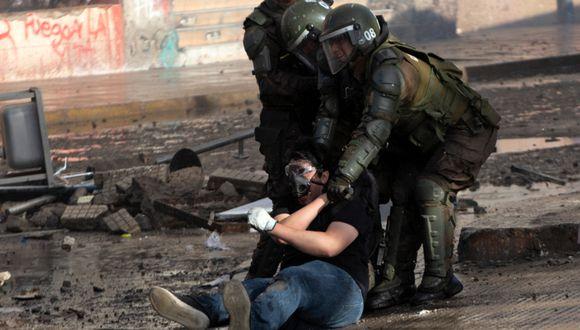 Las protestas en Chile estallaron el 18 de octubre y se saldan con 26 muertos de acuerdo a la Fiscalía. (Foto: AFP).