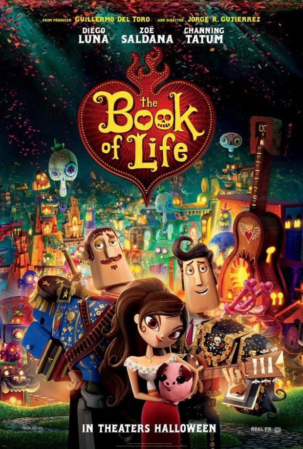 """""""The Book of Life"""" Poster in Spanish """"The book of life"""" (Foto: 20th Century Fox Animation)"""
