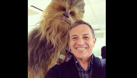 """Star Wars"": Chewbacca posó para su primer selfie"