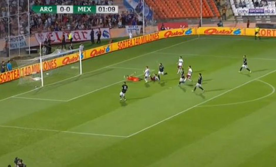 Argentina vs. México EN VIVO: el golazo de Mauro Icardi para el 1-0 | VIDEO