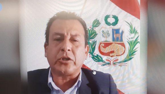 Jhosept Pérez Mimbela expresó que se allanará a toda investigación que se le siga en el Congreso (Facebook ).