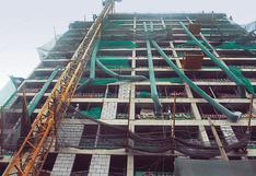 BCR: Sector construcción creció 20,5% en mayo, frente a 2019