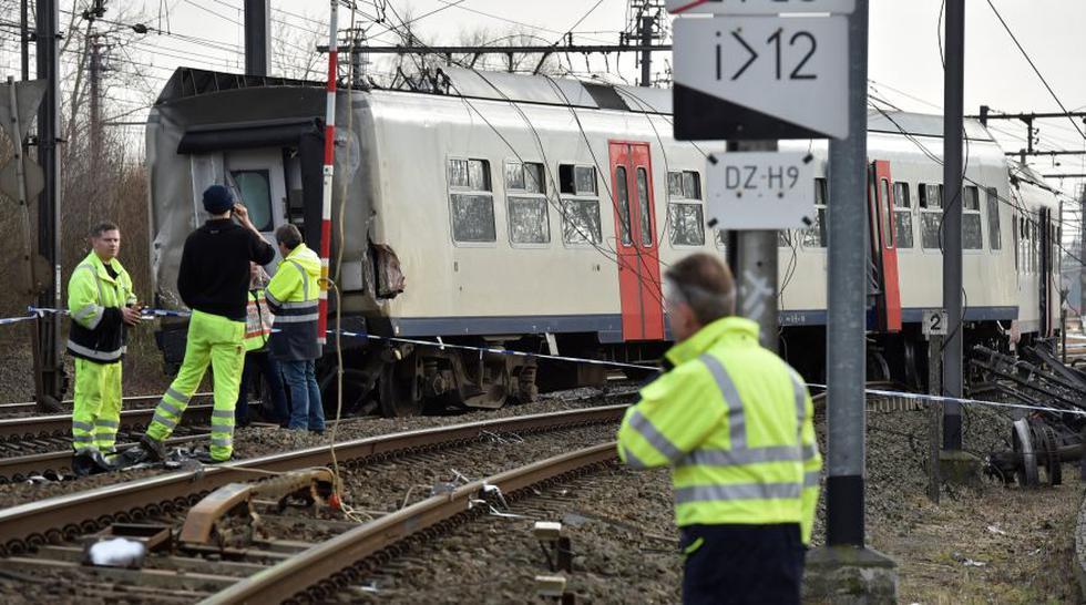 Bruselas: Descarrilamiento de tren deja un muerto y 20 heridos - 3