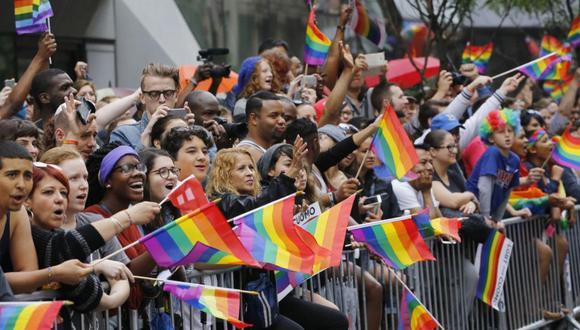 """""""En este mes que recordamos la diversidad TLGB, deseo que nuestros aliados estatales continúen haciendo su parte"""". (Foto: AFP)"""