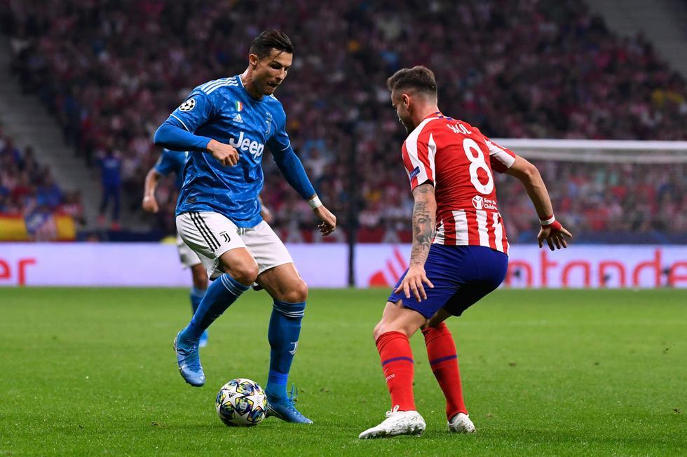 Juventus vs. Atlético de Madrid. (Foto: AFP)