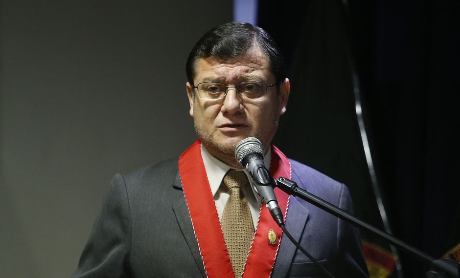Jorge Chávez Cotrina, coordinador de las Fiscalías contra el Crimen Organizado, aseguró que han recibido el respaldo del fiscal de la Nación. (Foto: USI)