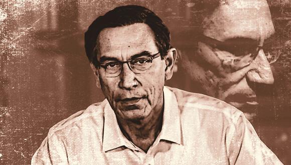 Los casos Chinchero,  Swing y Hospital de Moquegua dirigen la atención sobre el papel del ahora presidente Martín Vizcarra (Composición: El Comercio)