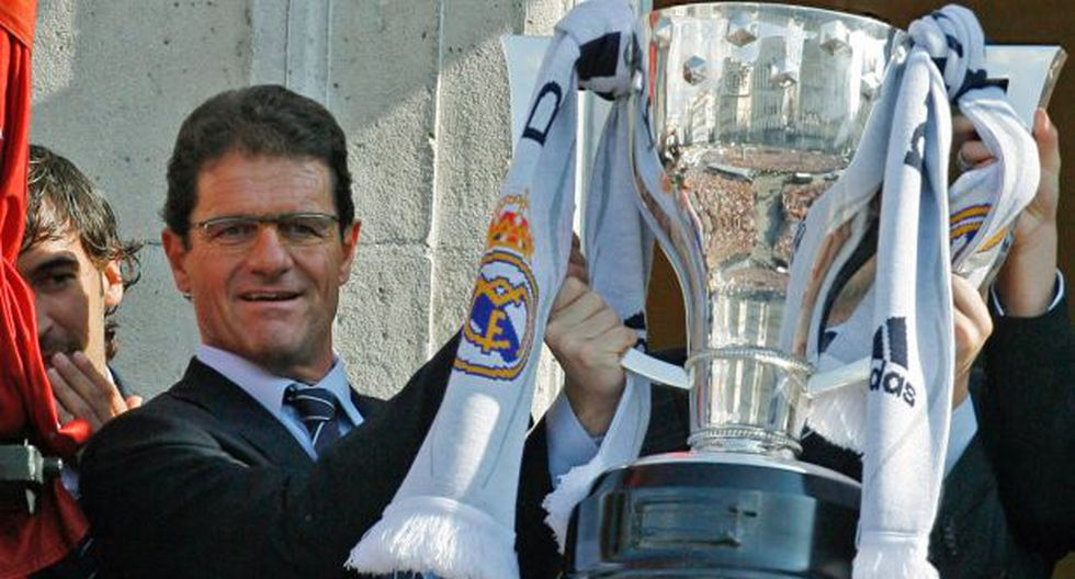 "Capello: ""Real Madrid es mi favorito para ganar la Champions"""