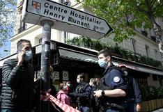 Francia: un muerto y un herido por tiroteo afuera de un hospital de la Cruz Roja en París
