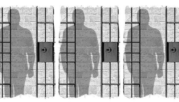 """""""El homicidio de cuatro policías y el secuestro de otros 21 son argumentos que siembran la desconfianza sobre una deseada vida libre pero sujeta a la legalidad"""". (Ilustración: Rolando Pinillos)"""