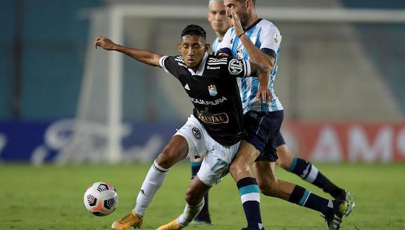 Christofer Gonzáles anotó su primer gol en la Copa Libertadores 2021. (Foto: EFE)