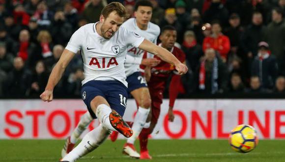 Harry Kane, delantero del Tottenham. (Foto: Reuters)