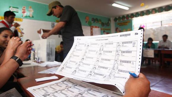 Las Elecciones Regionales y Municipales 2018 se llevarán a cabo el domingo 7 de octubre. (Foto: JNE)