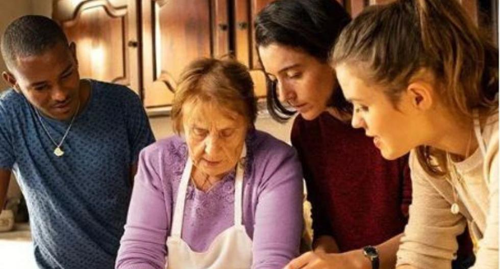 La abuelita ha sido blanco de muchos halagos por parte de los usuarios en las redes sociales. (Chiara Nicolanti/Airbnb)