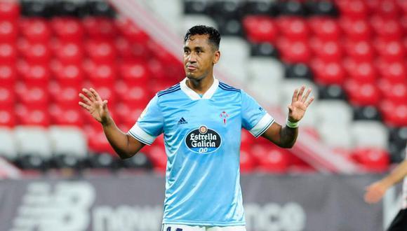 Renato Tapia viene cumpliendo una destacada temporada en el club español Celta de Vigo | (Foto: @RCCelta)