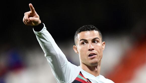 Cristiano Ronaldo debutó en la selección de Portugal en agosto del 2003. Desde esa fecha ha marcado 103 goles en 173 partidos jugados. (Foto: AFP)