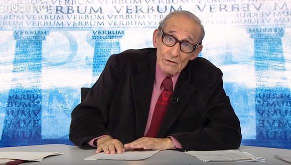 Marco Aurelio Denegri tuvo un programa en TV Perú por más de una década.