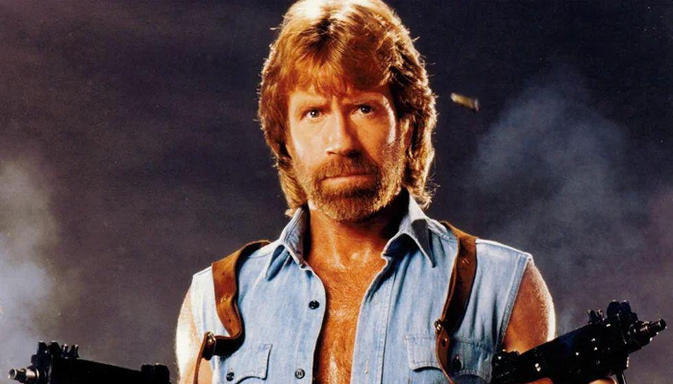 Chuck Norris, el hombre más rudo del cine. (Foto: Agencia)