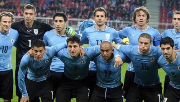 Brasil 2014: Uruguay presentará 30 preconvocados al mundial