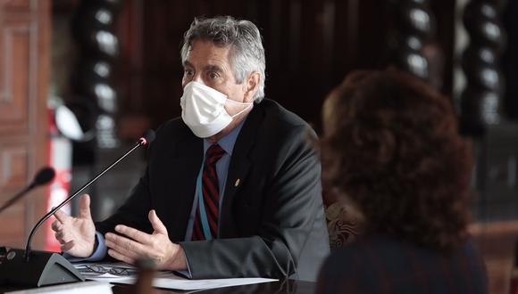 """El Gobierno indicó que la adquisición de artículos de pastelería se realizó """"antes de que asumiera el cargo"""" el presidente Francisco Sagasti el 17 de noviembre del 2020. (Foto: Presidencia)"""