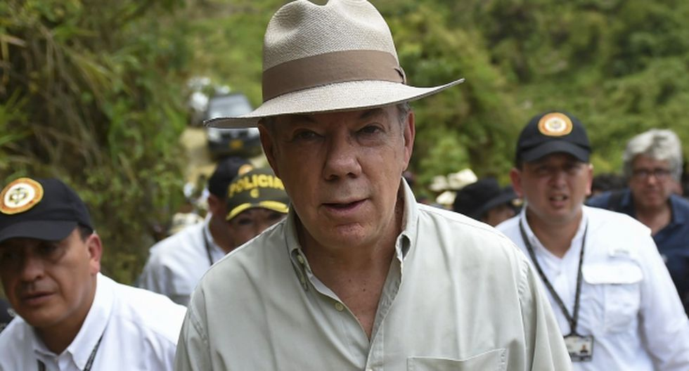 """Juan Manuel Santos, presidente de Colombia, insistió en que el proceso de paz permitirá """"poner a producir el campo, que antes no producía"""". (Foto: AFP)"""