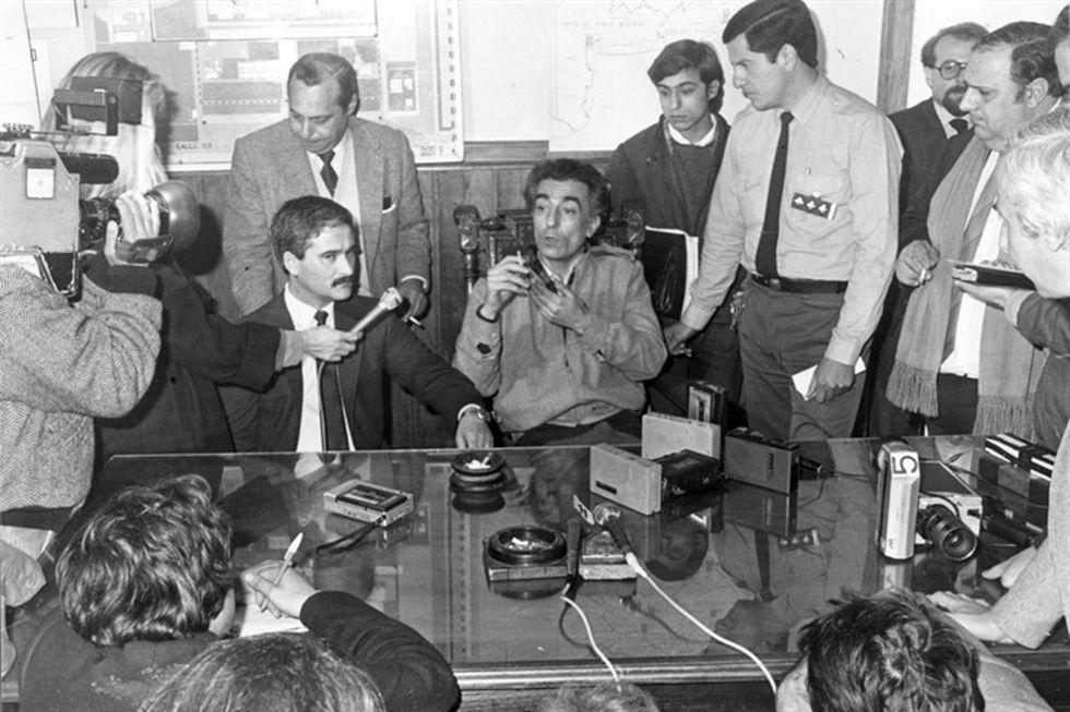 Pippo fue uno de los principales sospechosos del crimen, pero la Justicia no pudo probar que la hubiera matado. (Foto: Archivo La Nación)