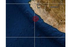 Ica: sismo de magnitud 4,6 se reportó en Nasca esta tarde, señala IGP
