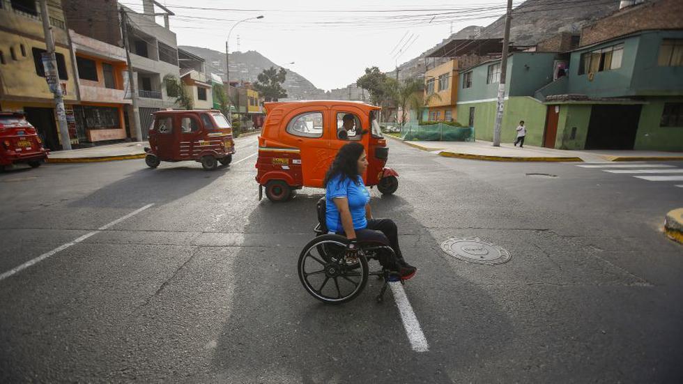 El drama que viven las personas en silla de ruedas en Lima - 8
