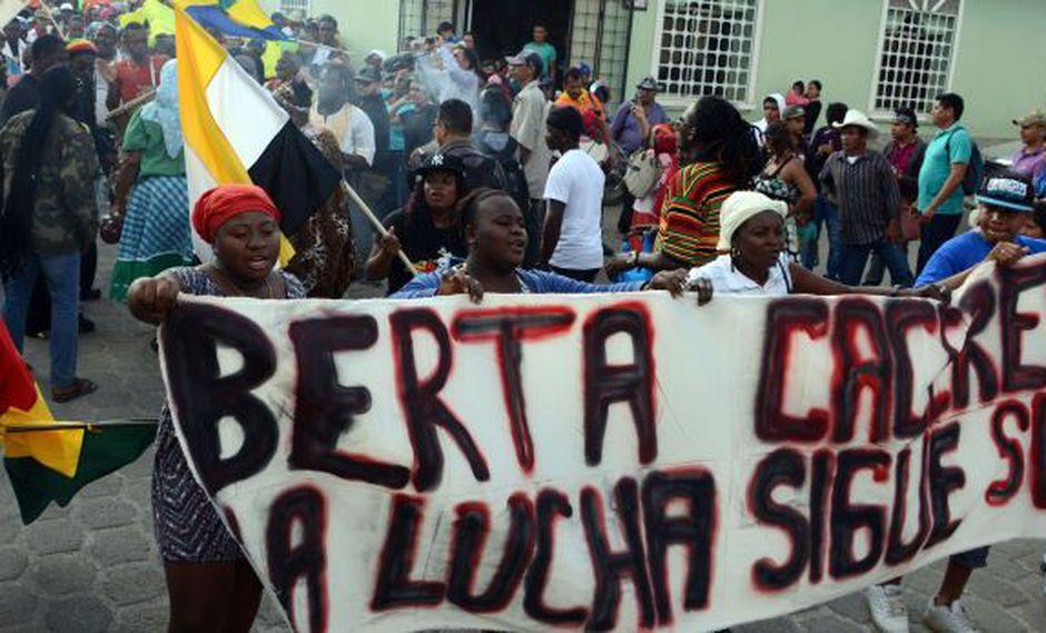La CIDH repudia asesinato de activista hondureña Berta Cáceres