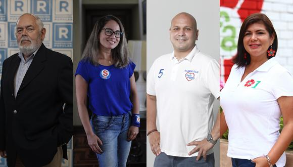 Candidatos expusieron sus ideas en los debates organizados por El Comercio. (Fotos: GEC y Difusión)