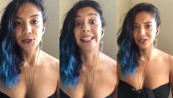 Mayra Couto es duramente criticada tras dar su punto de vista sobre el embarazo adolescente. (Foto: Captura de video)