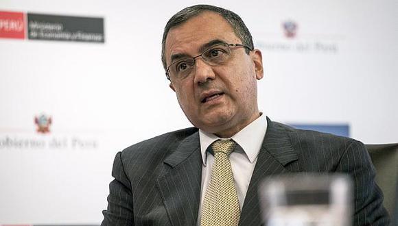 El ministro de Economía,Carlos Oliva, sostuvo que se necesita llevar a cabo una reforma laboral. (Foto: GEC)