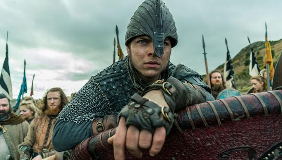 """""""Vikings"""". En la foto Alex Hogh Andersen, intérprete del cruel Ivar. Foto: Difusión."""
