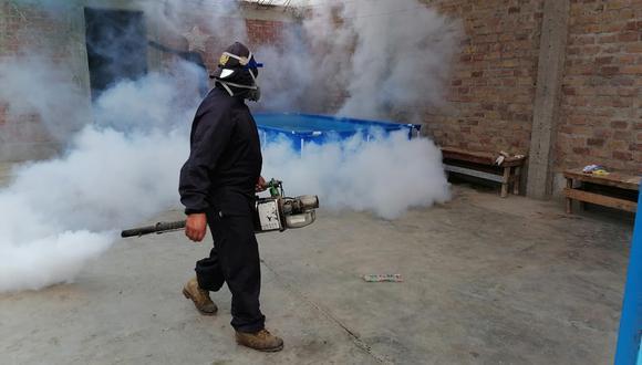 Los distritos de Motupe, Ciudad Eten y Túcume, también presentan casos de dengue. (Foto: GEC-Referencial)