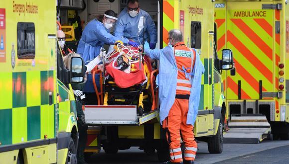 Coronavirus en Reino Unido | Últimas noticias | Último minuto: reporte de infectados y muertos hoy, martes 16 de febrero del 2021 | Covid-19. (Foto: DANIEL LEAL-OLIVAS / AFP).