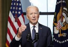"""Biden dice que es momento de """"terminar la guerra más larga de EE.UU."""" con la salida de Afganistán"""