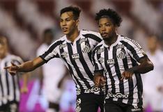 Santos sorprendió en Ecuador y venció por 2-1 a LDU de Quito en los octavos de final de la Copa Libertadores