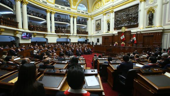 La mayoría de las bancadas compartió la apreciación de Martín Vizcarra respecto a la superación de la crisis política. (Foto: Congreso)