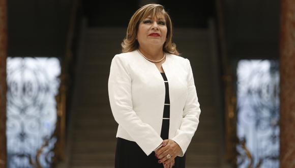 Luz Ibáñez Carranza (Foto: Paco Sanseviero / El Comercio)