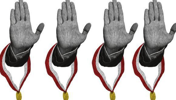 Dos de las propuestas de la Comisión de Alto Nivel para la Reforma Política (CANRP) tenían como propósito frenar y disminuir el acceso y la permanencia de quienes habían delinquido o los que lo hacían, bajo la investidura parlamentaria. (Ilustración: Giovanni Tazza)