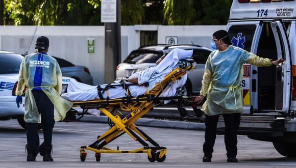 Coronavirus en Estados Unidos | Últimas noticias | Último minuto: reporte de infectados y muertos hoy, viernes 26 de marzo del 2021 | Covid-19. (Foto: AFP / CHANDAN KHANNA).