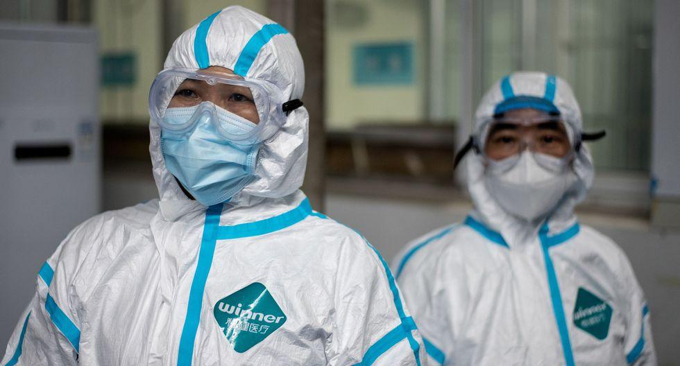 China no ha registrado nuevas muertes diarias por primera vez desde la publicación de estadísticas de víctimas del coronavirus, que comenzó en enero, anunciaron este martes las autoridades sanitarias. (AFP / NOEL CELIS).